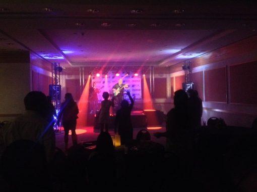 Estrutura para eventos e Iluminação